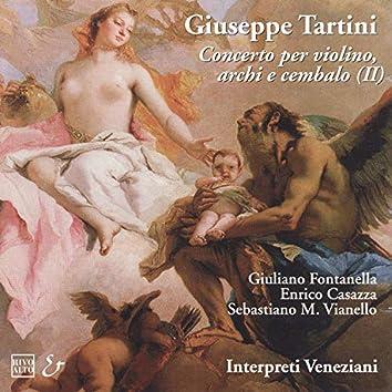Tartini: Concerti per violino, archi e cembalo (II)