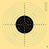 [page_title]-OpTacs Pistolen-/ Kleinkaliberscheibe 55 x 52 cm mit Einsteckschlitz - 50er Pack