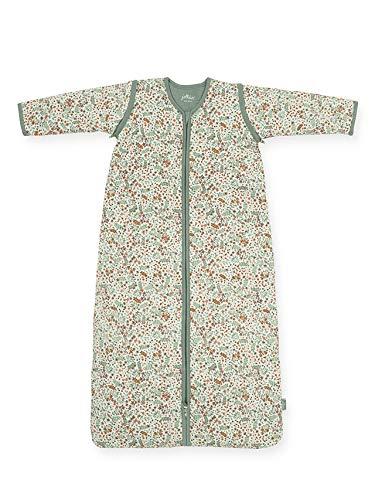 Jollein 016-548-65348 Babyschlafsack 70cm Bloom mit abnehmbarem Ärmel, Mehrfarbig, 339 g