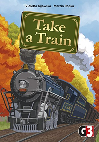 G3 Publishing 105741 - Take a Train, Brettspiel - Deutsch/Englisch