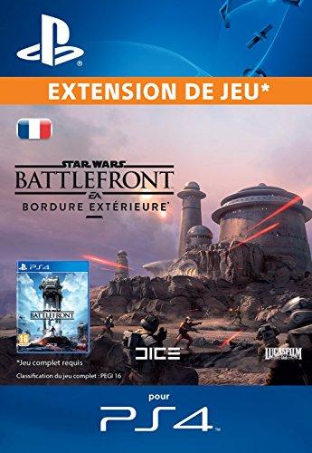Star Wars Battlefront Bordure extèrieure [Extension De Jeu] [Code Jeu PSN PS4 - Compte français]