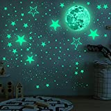 Best Glowing Stars - Glow in The Dark Moon and Stars Wall Review