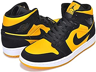 Details about Air Jordan 1 Mid SE Yellow Toe Post BlackTour Yellow White 852542 071 Original show original title