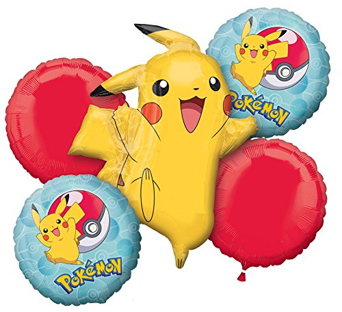 Amscan International 3633401 Pokemon folie ballon