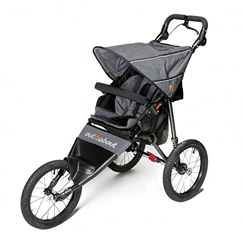 Out n About Nipper Sport V4Stroller Stahl Grau