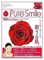 Pure Smile エッセンスマスク ローズ 23ml☓30枚