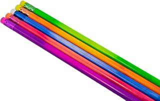 Mood Pencil (Heat Activated Color Changing Pencils) (Thermochromic) (Tested Non Toxic) (Latex Free Eraser) (Box of 72) (Assorted Pack (Green, Purple, Orange, Red) (Classroom Pencils)
