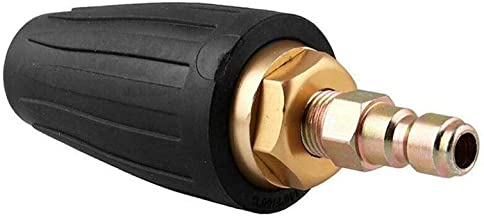 Mozusa Universal hogedrukreiniger Turbo Nozzle for High Pressure Inch Outlet Plug Orifice 2,5/3,0 1/4 Spray Montage Quick-...