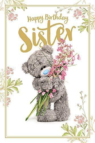 Sister Birthday Me To You Bear Tatty Teddy Carte Blanche PhotoFinish Birthday Card