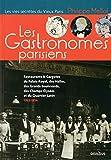 Les Gastronomes parisiens