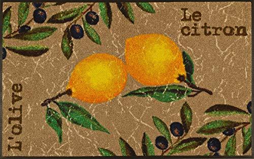 Wash + Dry Fußmatte Le Citron 75x120 cm