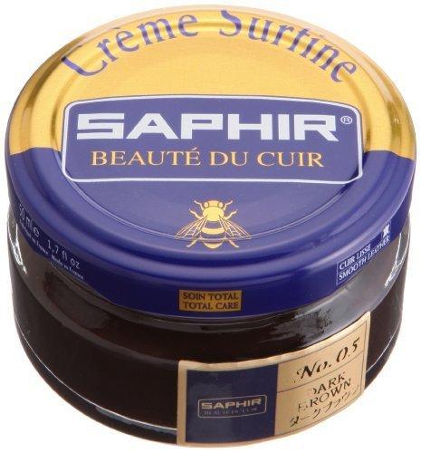 Saphir Creme Surfine Pommadier Shoe Polish 50ml - Dark Brown