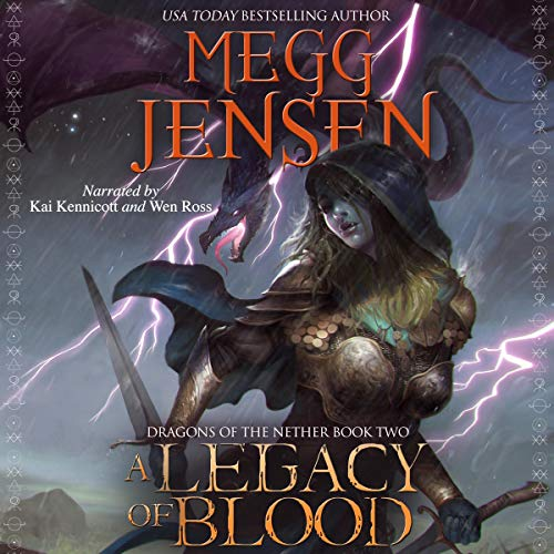 A Legacy of Blood audiobook cover art