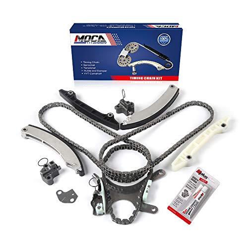 MOCA Timing Chain Kit for 2002-2011 Dodge Dakota & for Jeep Grand Cherokee Liberty & Ram 1500 & Mitsubishi Raider 3.7L V6 SOHC 12 Valve K
