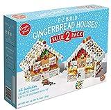 Create-A-Treat E-Z Build Gingerbread Houses, Value 2-Pack, 46.1 ounces