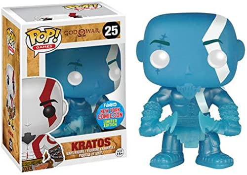 God of War Kratos Poseidon Rage POP  Figur 10 cm NYCC Exclusive