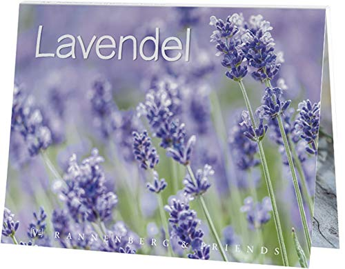 Postkartenbuch Lavendel 15 Postkarten Rannenberg & Friends