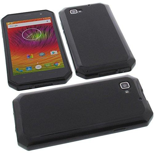 foto-kontor Funda para Nomu S30 Protectora de Goma TPU para móvil Negra