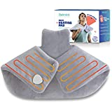 Neck and Shoulder Heating Pad - Tension Relieving Heat Pad with Fast-Heating Technology & Auto Shut Off