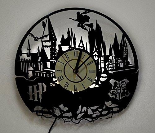 Harry Potter Hogwarts lámpara de pared, función de luz nocturna, Original Kids Room Interior Decor