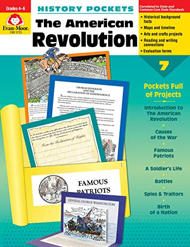 Compare Textbook Prices for History Pockets: The American Revolution Illustrated Edition ISBN 0023472037251 by Evan Moor,Evan-Moor Educational Publishers