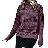 Women Knit Sweaters Winter Warm