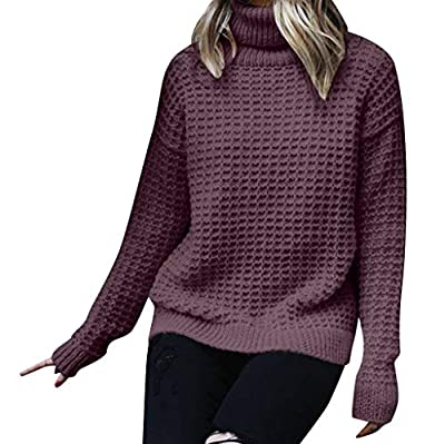 Women Knit Sweaters Winter