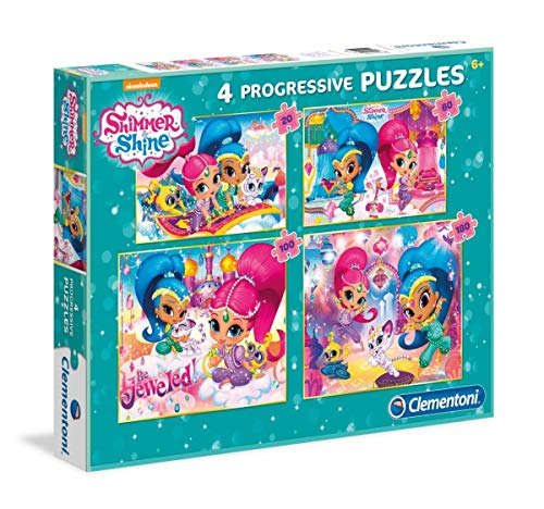 Shimmer and Shine Puzzles Progresivos