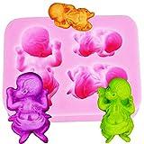 Lovelegis Molde de Silicona para bebé - recién Nacido - pañal - jabón -...
