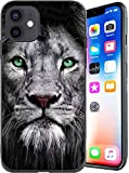 Designed for iPhone 12/iPhone 12 Pro Case Lion Designs Anti-Scratch Shockproof Case Unfading Coloring Premium TPU Slim Fit Soft Cover, Compatible with iPhone 12/12 Pro 6.1 inch (Lion D)