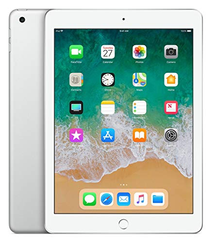 Apple 9.7in iPad (Early 2018, 32GB, Wi-Fi Only, Silver)