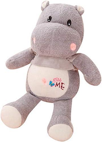 la calidad primero los consumidores primero LAIBAERDAN Juguete De Peluche Suave Hipopótaño Hipopótaño Hipopótaño muñeco De Peluche Niños muñeca Almohada muñeca muñeca 35-55-65-90Cm, 65Cm  precios razonables
