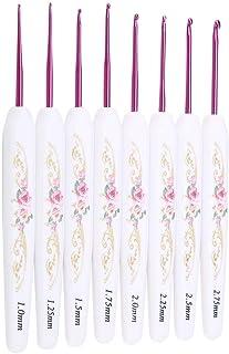 Qinlorgo Outils d'aiguilles à Tricoter faciles à Utiliser, Crochet Ergonomique, Conception Simple Ligne Mince Facile à Tra...