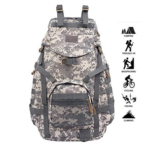 Tactische militaire rugzak – 70 l waterdichte Daybag Molle militaire rugzak voor kamperen, wandelen, trekking, reizen