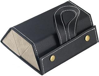 3-Slot Lunettes Multifonctionnel pliable Lunettes de stockage Organisateur Collector Noir, Cuisine Gadget