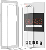 Trianium Screen Protector Compatible for iPhone 13 / iPhone 13 Pro 2021 3 Pack 6.1 inch Tempered Glass 9H Film - HD...