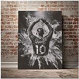 DOAQTE Wayne Rooney Poster und Drucke Raumdekor Leinwand