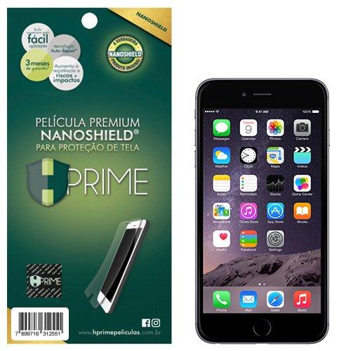 Pelicula NanoShield para Apple iPhone 6/6S, HPrime, Película Protetora de Tela para Celular, Transparente