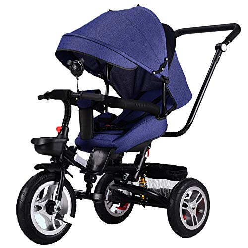 New YUMEIGE Kids' Tricycles Kids Tricycle Kids Pedal Bicycle with parasols 1-5 Years Old Load Weight...