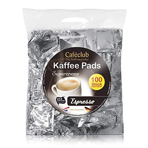 Caféclub Espressopads Supercreme Espresso 100 St. - Megabeutel
