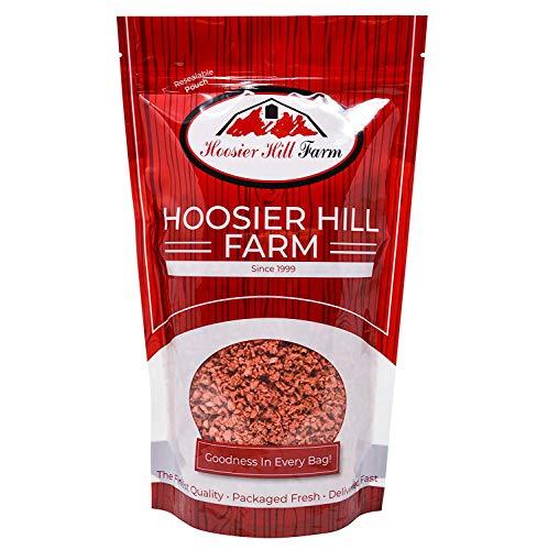 Soja Schinkenfreie Stückchen (1,36 kg) Fleischersatz mit Hoher Proteingehalt von Hoosier Hill Farm