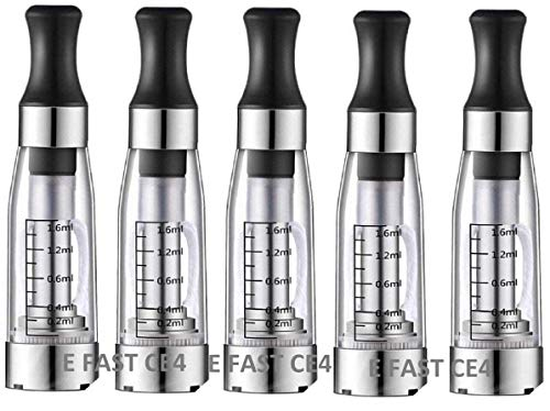 5 x Shisha Vape Pen Clearomizer Atomizer Atomiser for E Cigarette Compatible with Ego MT3 CE4 CE5...