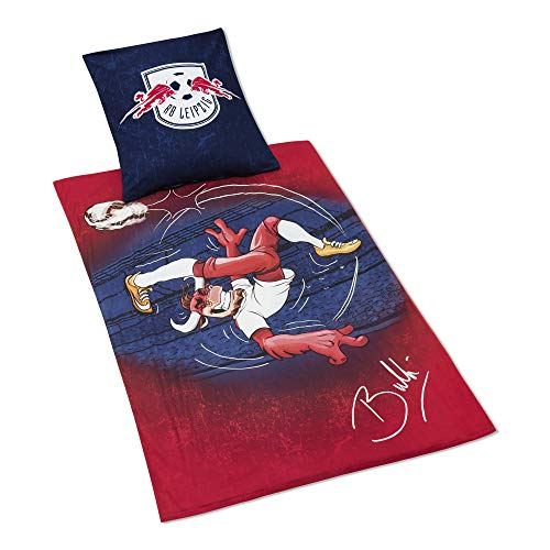 RB Leipzig Puppe Bed Clothes, Rot Unisex One Size Toy, RasenBallsport Leipzig Sponsored by Red Bull Original Bekleidung & Merchandise