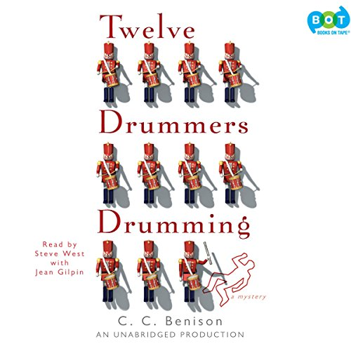 Twelve Drummers Drumming audiobook cover art