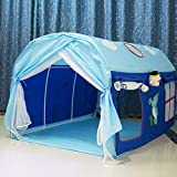PAIZEP Kinderzelt Bett getrennte Betten Artefakt Tunnel Junge Spielhaus Betthimmel Prinzessin Bett...