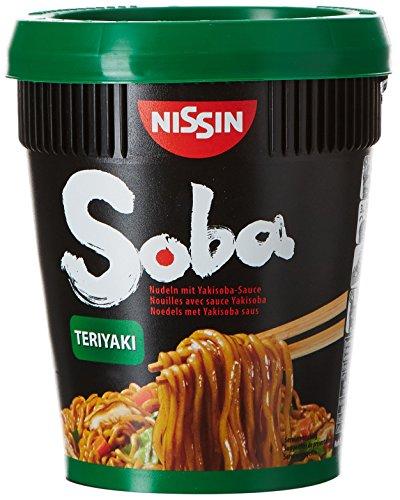 Nissin Nouilles Instantanées Soba Teriyaki 90 g - Pack de 8