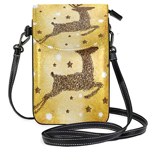 XCNGG Cute Cat Glitter Cell Phone Purse Crossbody Bag Pouch Shoulder Bags Wallet for women Girls Travel Wedding