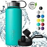 720°DGREE Edelstahl Trinkflasche noLimit 530 ml, 0,5l   Neuartige Thermosflasche +Gratis...