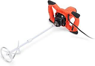 1800W Nordstrand PWTPM01 Pro Mixer Stirring Tool for Cement Plaster Grout Paint Thinset Mortar - 6 Speed - 120mm Mixing Paddle