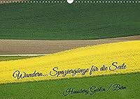 Wandern - Spaziergaenge fuer die Seele Hausberg Gurten/ Bern (Wandkalender 2022 DIN A3 quer): Raus aus der Stadt, ab ins Gruene (Monatskalender, 14 Seiten )